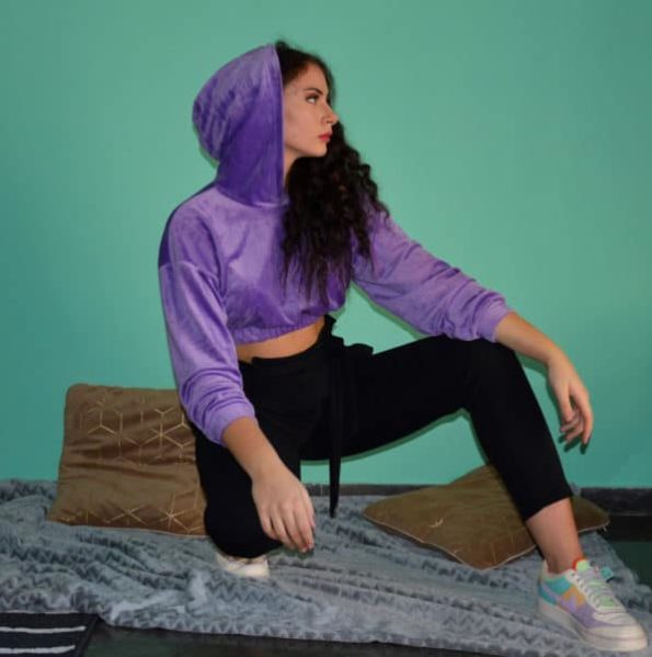 We-are-loving-the-ultra-soft-touch-on-this-Cropped-Velour-Hoodie-Just-the-Perfect-feeling-for-everyday-casual-looks-OL