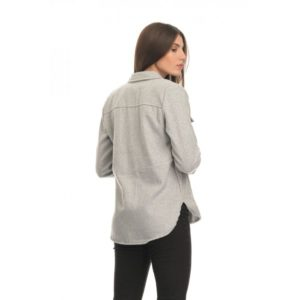 Συνδιάστε το Fleece Shirt με οποιοδήποτε τζιν σε στενή γραμμή φανελάκι απο μέσα και biker μποτάκια ή φορέστε το με παντελονι slouchy και αθλητικά φλατ παπούτσια.