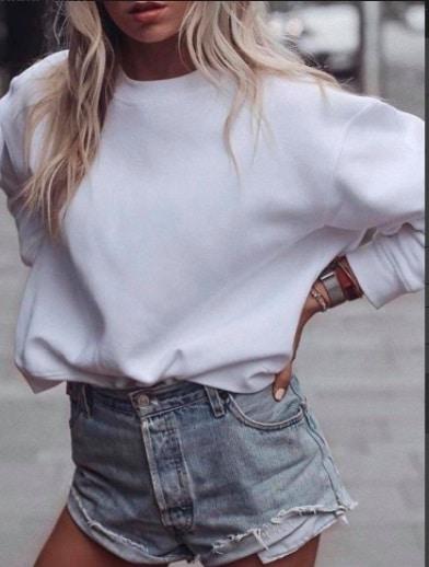 white-hoodie-round-neck
