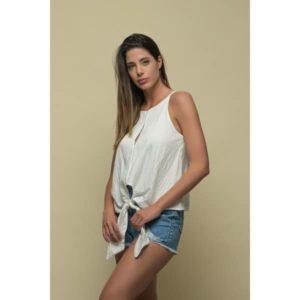 Φορέστε το LINEN Cami Top μέσα απο ψηλόμεσο τζιν ή πάνω απο μια για maxi φούστα μια cool ανέμελη εμφάνιση!