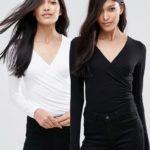 Μόλις έφτασε στην whitetie.gr ! To Wrap Front Long Sleeve Top είναι ακριβώς οτι χρειαζόμαστε για ολόκληρη τη σεζόν. Με πολύ φιλικό προς το δερμά ύφασμα αυτό το μακρυμάνικο τοπ συνδιάζεται με όλα τα ρούχα !Έχει ευχάριστη υφή , εφαρμοστή γραμμή και αποτελεί τον σωστό συνδιασμό για μίντι ψηλόμεσες φούστες και παντελόνες.